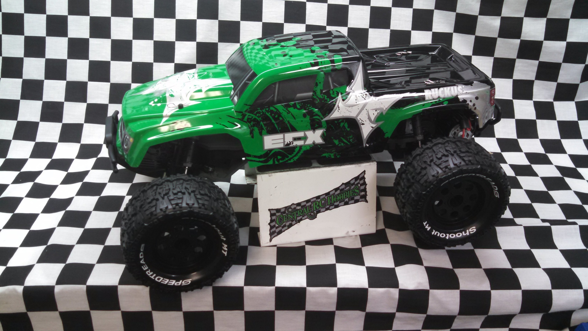 ECX 2WD Brushed Ruckus