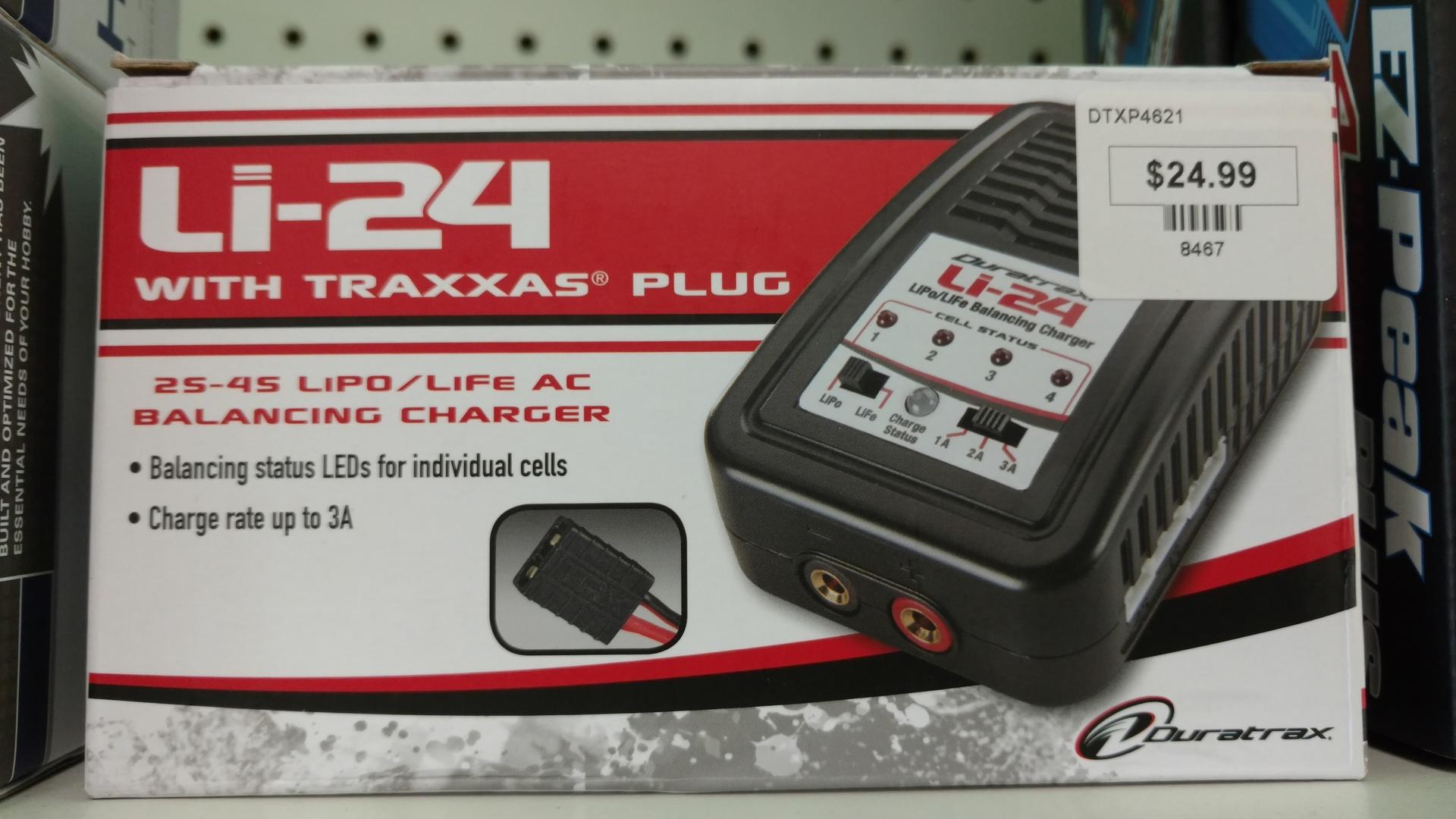 LI24 W/TRAXXAS PLUG