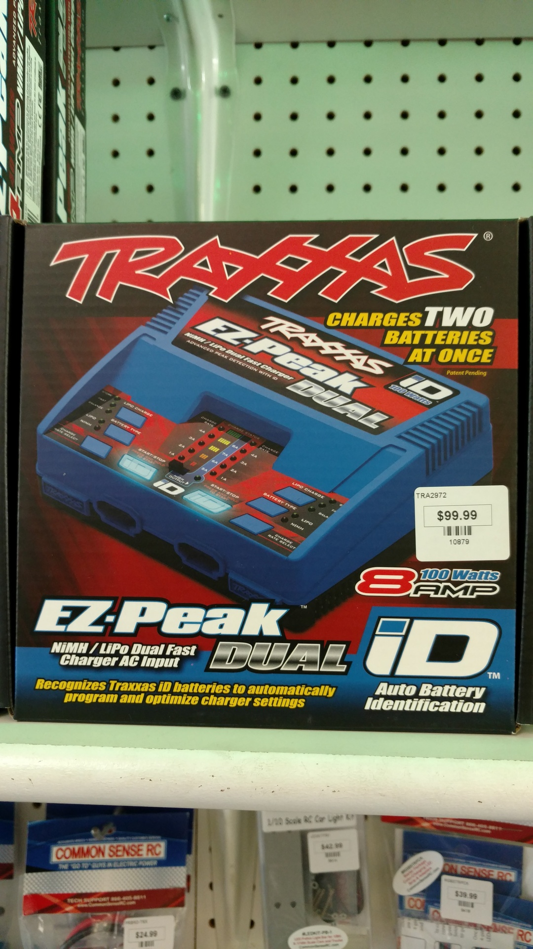 TRAXXAS ID DUAL CHARGER